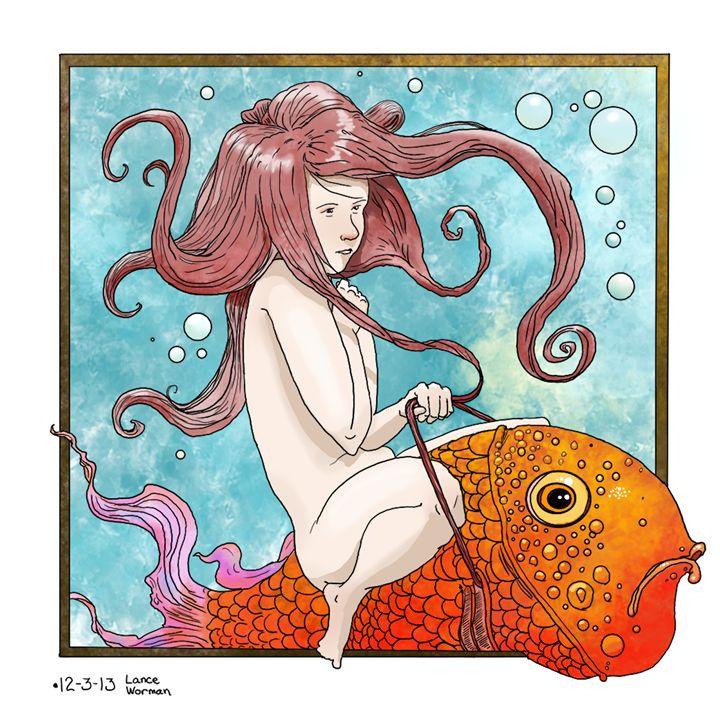 Fish Ride - Lance Worman