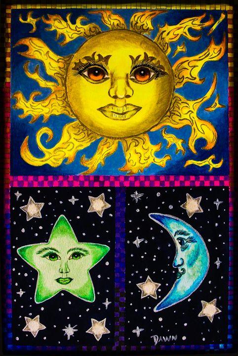 Celestial skies - Dawn Siegler