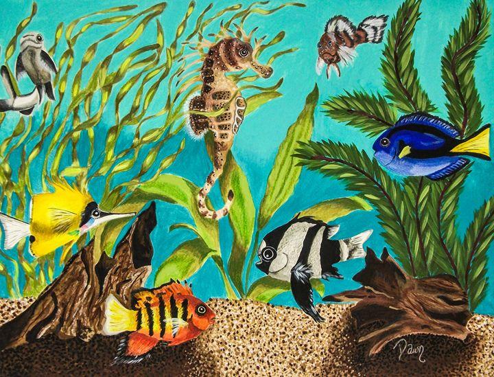Under sea paradise - Dawn Siegler