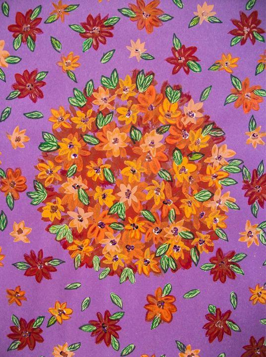 Floral Sphere - Dawn Siegler
