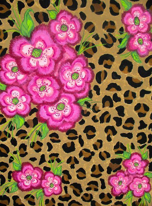 Floral Leopard Print - Dawn Siegler