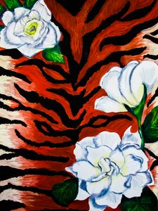 Tiger animal print