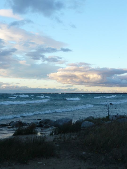 Lake Michigan at Dusk #2 - Martin Gak