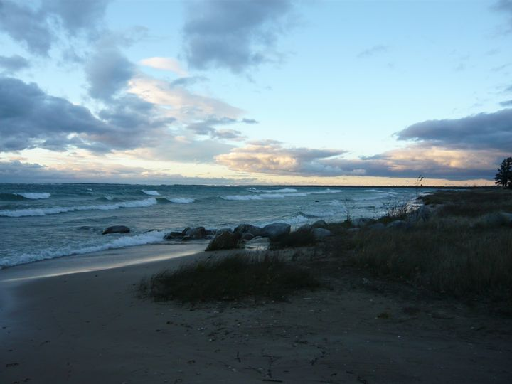 Lake Michigan at Dawn #5 - Martin Gak