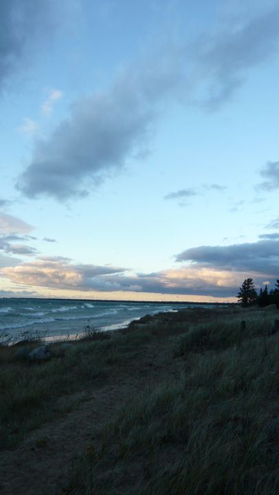 Lake Michigan at Dusk #10 - Martin Gak