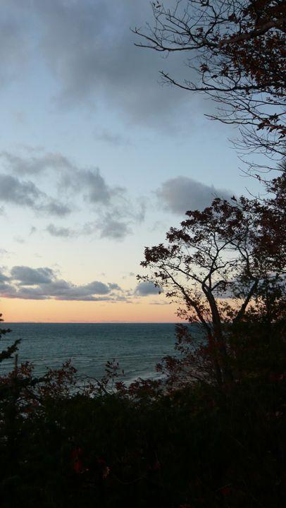 Sunset Over Lake Michigan #5 - Martin Gak