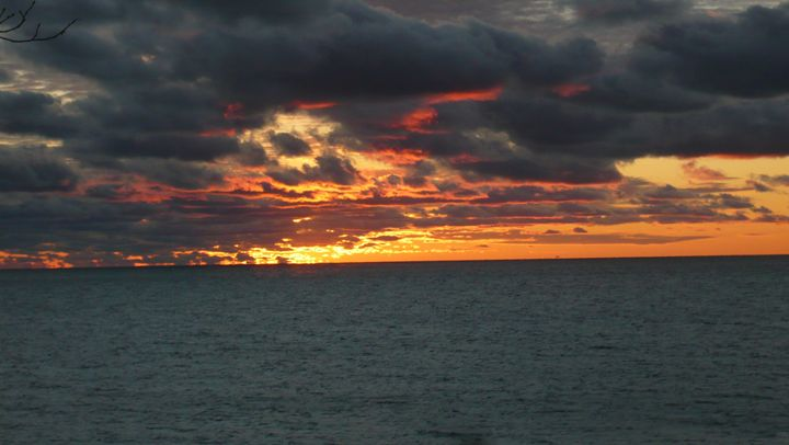 Sunset Over Lake Michigan #6 - Martin Gak