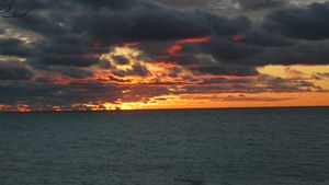 Sunset Over Lake Michigan #6