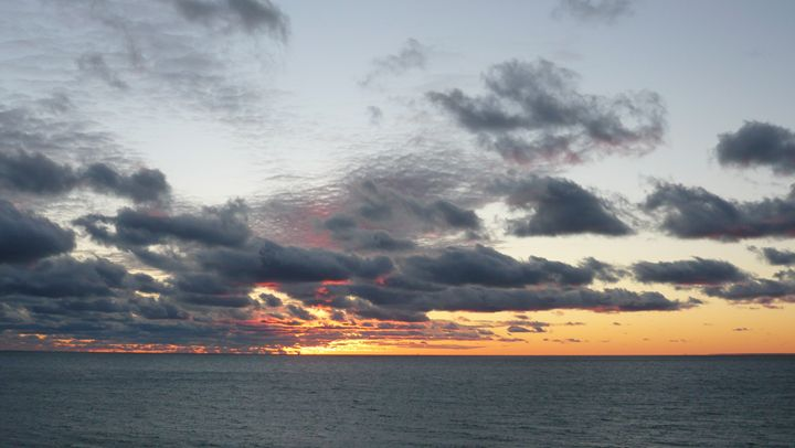 Sunset Over Lake Michigan #8 - Martin Gak