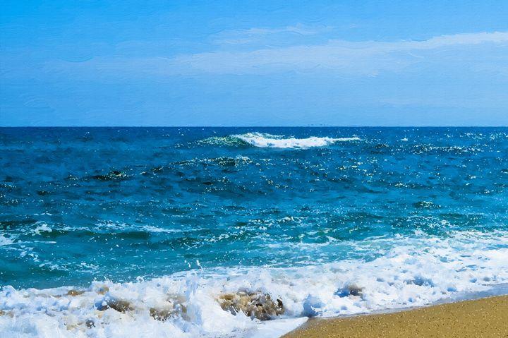 Sea waves - Oil