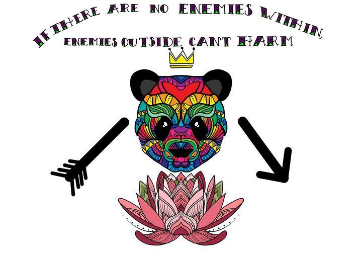 Positive Vibes - Hatched Art