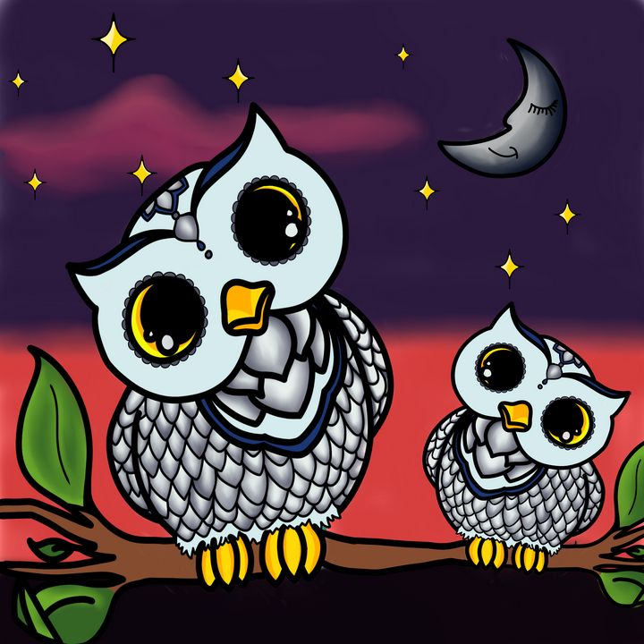 Owl love you forever! - Hatched Art