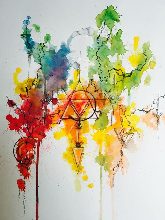 The war of colors - M's art