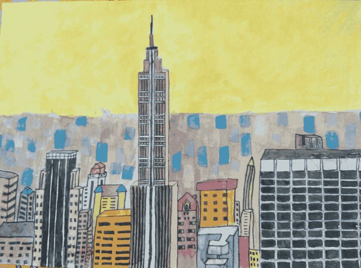 The Empire State Building - Majestic Painter