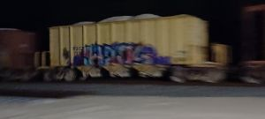 Tagged down the track 1