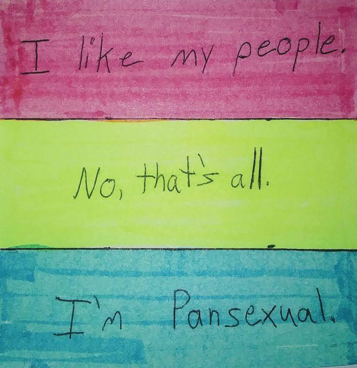 Pansexual - Joe Snappe