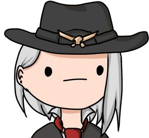 Meh-Face 1 (Ashe Overwatch)