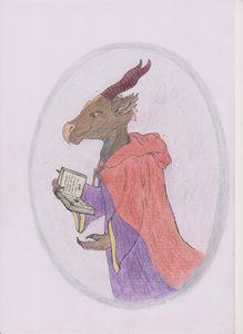 Dragonkin mage