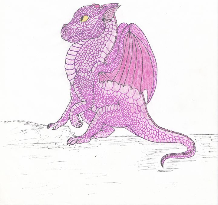 'Meeka' the dragon - Wyverntales
