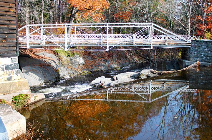 Bridge in Autumn - Amanda Pawlicki