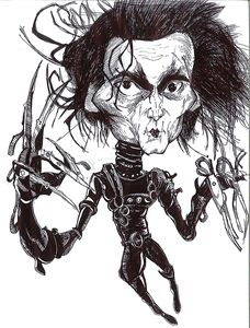 Edward Scissorhands Sketch