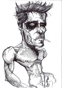 Fight Club Tyler Durdon Sketch