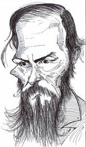Fyodor Dostoyevsky Sketch