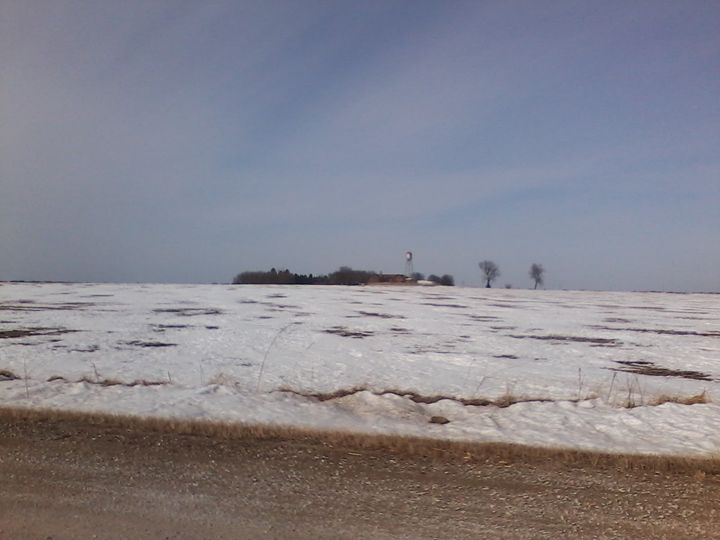 Snow Covered Field - Pennie Dae