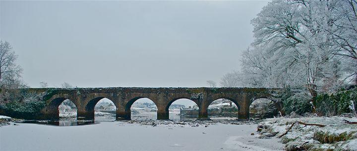 Cranna Bridge in Winter - John Coyle