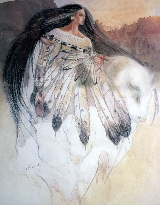 white buffalo calf woman - pamela mccabe's gallery