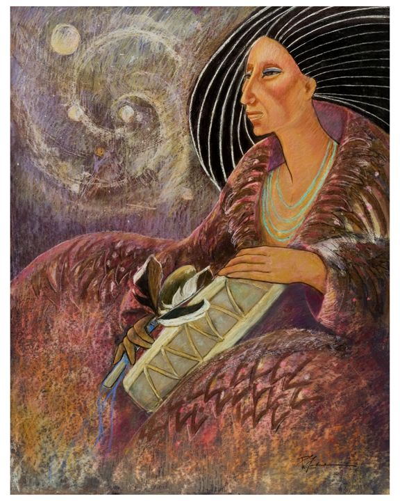 mayan from the Milky way galaxy - pamela mccabe's gallery