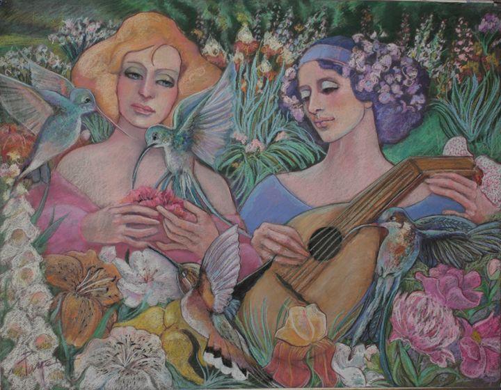 music in the garden - pamela mccabe's gallery