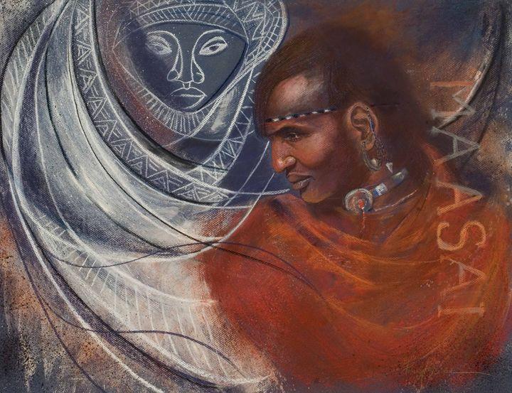 Maasai prince on his wedding day - pamela mccabe's gallery