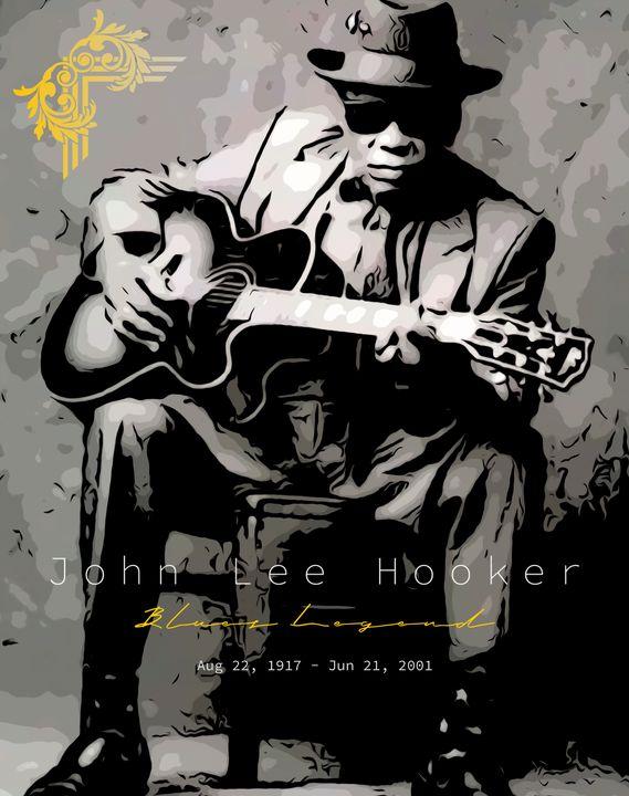 John Lee Hooker - Aaron Scott Badgley
