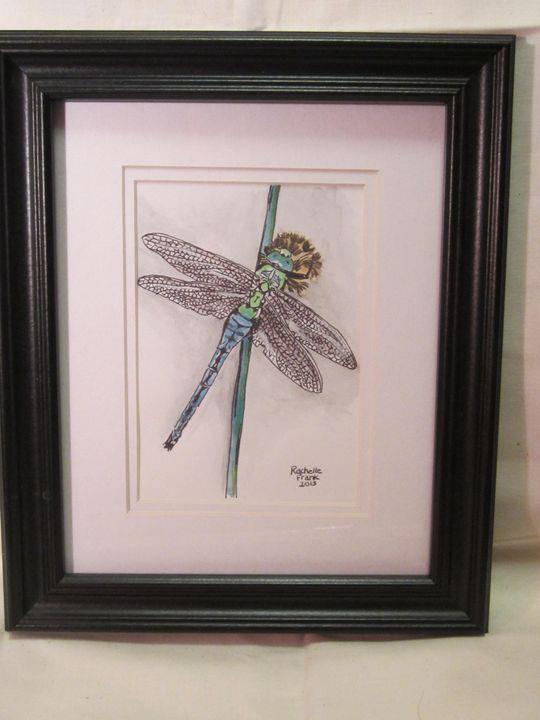 Blue Dragonfly - Frank Family Art
