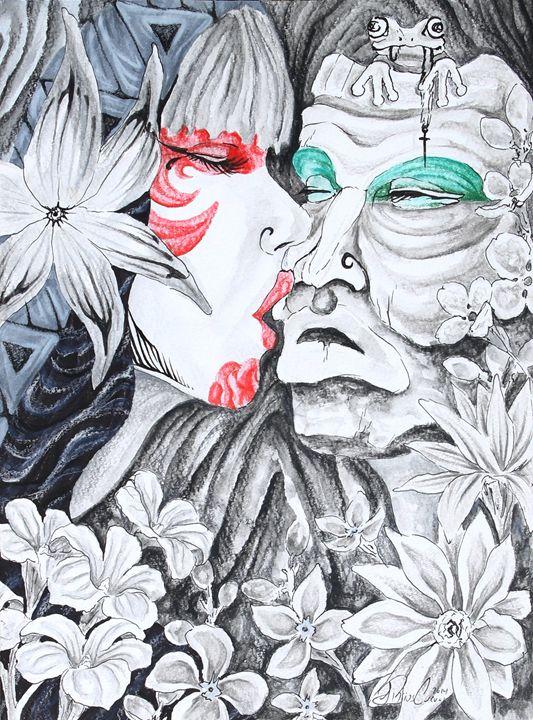 El beso - Samuel Rios Cuevas