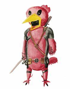Deadpool Chicken
