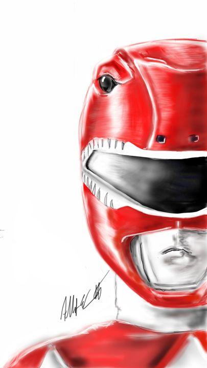 Classic Red Ranger - ArtOfficial Fan Art