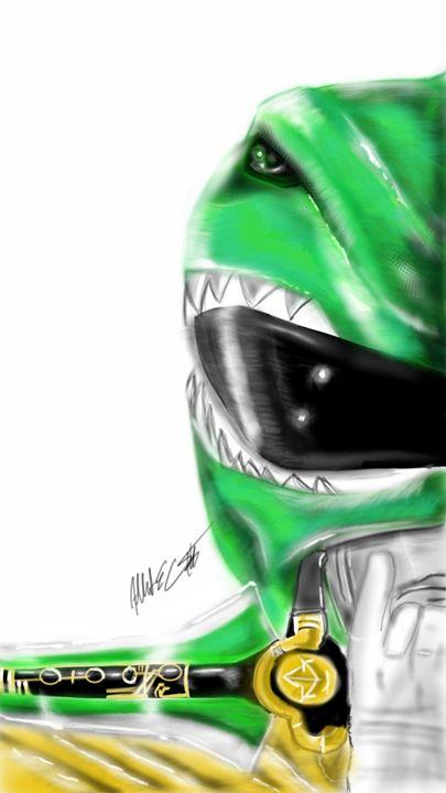 Classic Green Ranger - ArtOfficial Fan Art