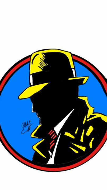 Dick Tracy - ArtOfficial Fan Art