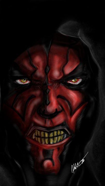 Darth Maul - ArtOfficial Fan Art