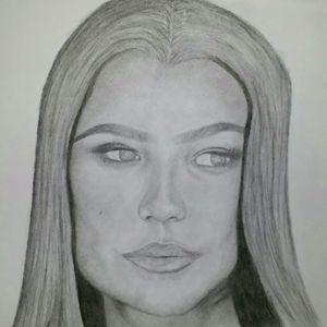 Zendaya Drawing
