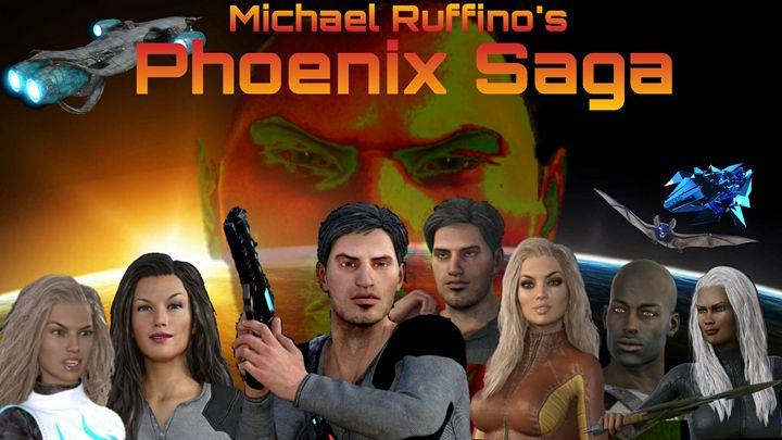 Phoenix Saga Poster - Michael Ruffino's