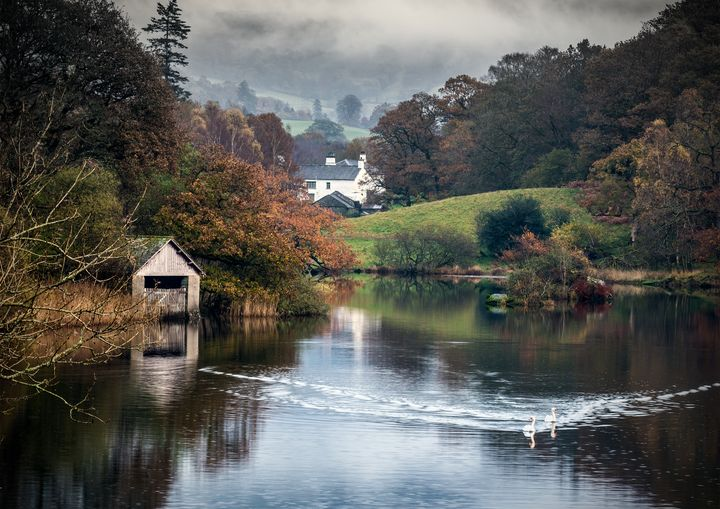 The Old Boathouse on Rydal Water - Peter Jarvis