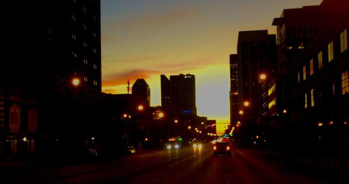 Broad Street Sunset - Art By Dashawn DaVinci Young