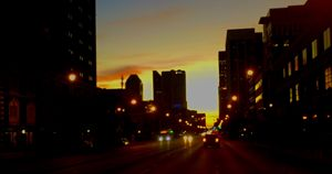 Broad Street Sunset