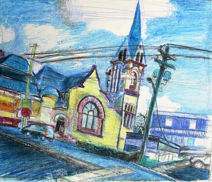 Church - Art By Dashawn DaVinci Young