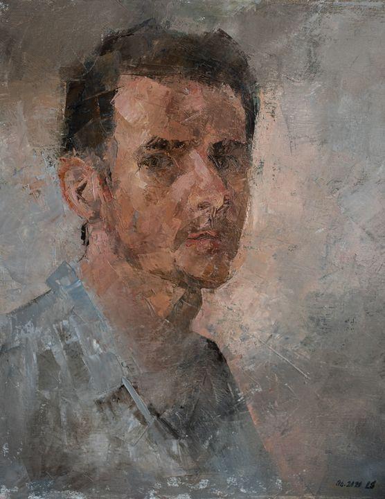 Self portrait - Lubomír Sléha