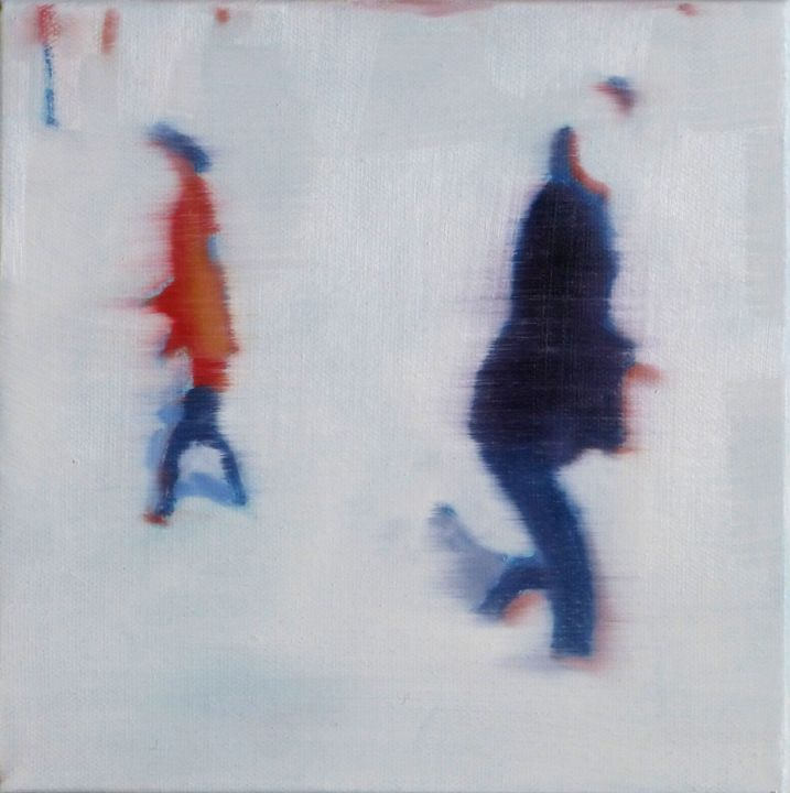 Skaters - Ashcroft fine art