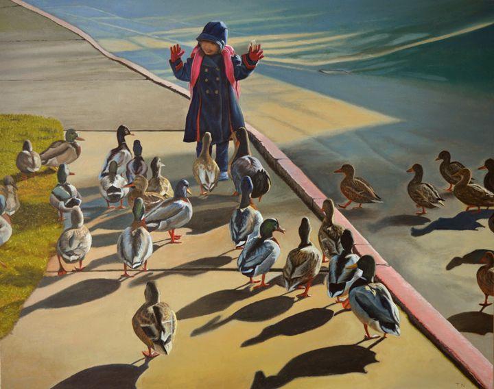 The Sidewalk Religion - Thu Nguyen